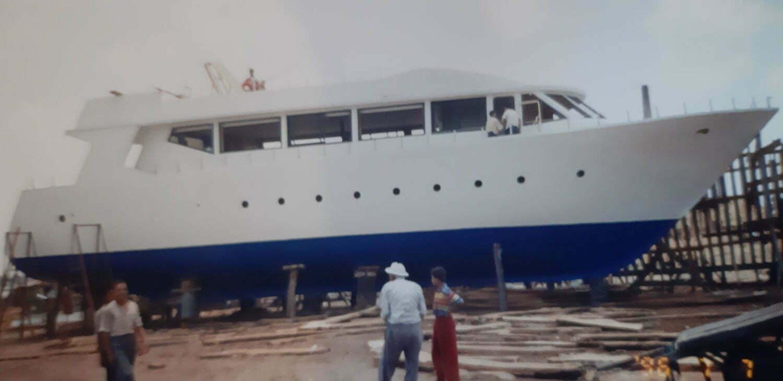 Cantiere di Rashid, per seguire i lavori della nostra barca